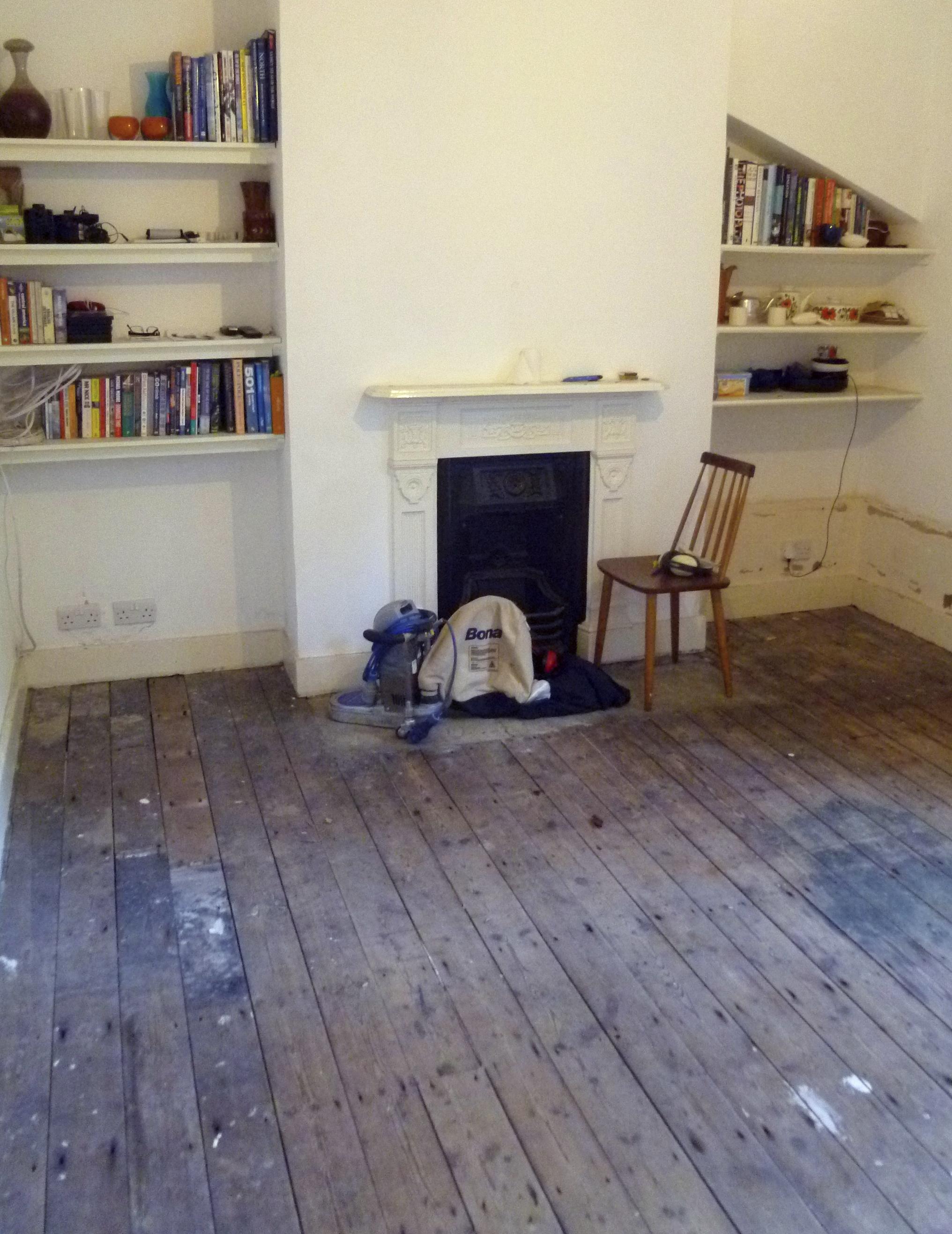 Sanded Floorboards Modern Maggie